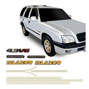 Faixa Decorativa Blazer Executive Amarelo Decal Line