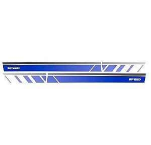 Faixa Decorativa Up Speedup Azul Decal Line