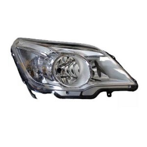 Farol Agile e Montana 2009 a 2014 Direita Cristal Automotive Imports