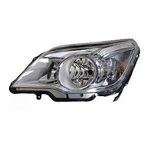 Farol Agile e Montana 2009 a 2014 Esquerda Cristal Automotive Imports