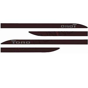 Kit Friso Lateral GPI Toro 2016 a 2020 Marron Horizon
