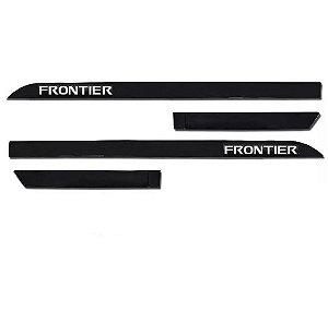 Kit Friso Lateral Sean Car Frontier 2017 a 2020 Preto Premium
