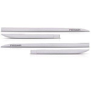Kit Friso Lateral Flash Prisma 2013 a 2019 Prata Switchblade Slim