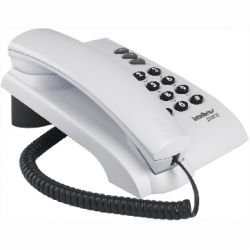 Telefone pleno branco