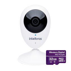 Câmera Wifi Hd Mibo Ic3 C/ Microsd 32gb