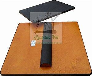 Prancha de Equilíbrio Gangorra 50x50x5.5 (CxLxA) Borracha