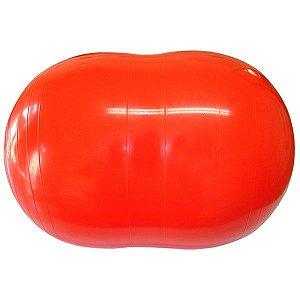 Bola Feijão 65x40 cm Gymnic - Vermelha