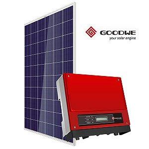 GERADOR DE ENERGIA SOLAR FOTOVOLTAICA GOODWE - 0,99 KWP - INVERSOR CENTRAL