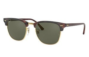 RAY-BAN CLUBMASTER CLÁSSICO VERDE TORTOISE