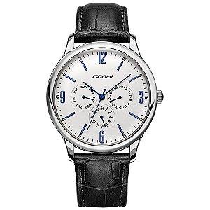 Relógio Casual Masculino Branco