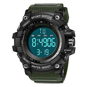 Relógio Esportivo Verde