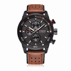 Relógio Elegante Masculino Preto
