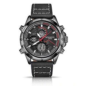 Relógio Luxo Preto