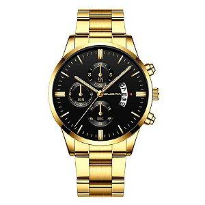 Relógio Dourado Elegante