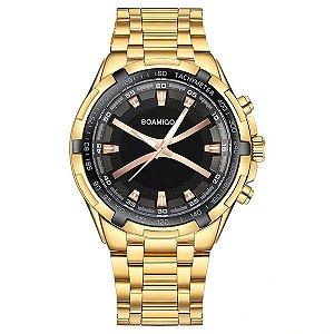 Relógio Gold Boamigo