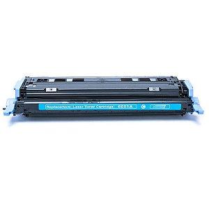 TONER HP COMPATÍVEL CARTUCHO HP 1600 | 2600 | Q6000A - CYAN