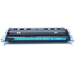 TONER COMPATÍVEL HP 2600 CYAN / Q6001A P/ Impressora HP 1600,Impressora HP 2600,Impressora HP 2600N,Impressora HP 26