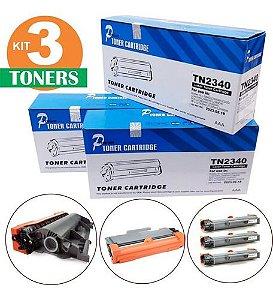 Kit Com 3  Toner Mc Para Brother  Dcp L2540dw