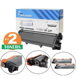 Kit 02 Toner Para Dcp L2540dw Toner Tn 2340 2370 Novo!!