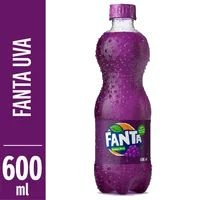 Refrigerante Fanta 600ml Pet Uva