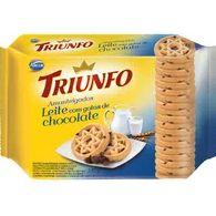 Biscoito Amanteigado Triunfo 330g Leite E Chocolate