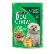 Alimento Cão Dog Chow 100g Sachê Ao Molho Peru