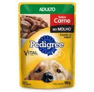 Alimento Cao Pedigree 100g Adulto Carne
