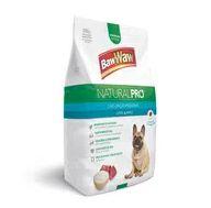 Alimento Cão Baw Waw 1kg Natural Pró Raças P-M Carne-Arroz