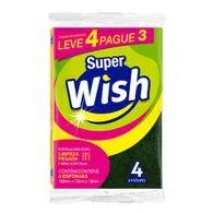 Esponja Limppano Mult Uso Super Wish Leve 4 Pague 3 Unidades