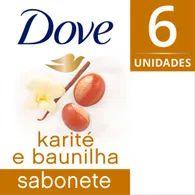 Sabonete Dove 90g Com 6 Lv Mais Pg Menos Karite E Baunilha