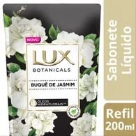 Sabonete Liquido Lux 200ml Refil Buque Jasmim