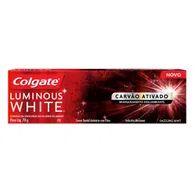 Creme Dental Colgate Luminous White 70g Carvão