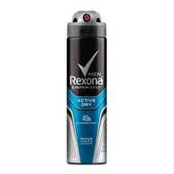 Desodorante Aerosol Rexona 90g Masc Active