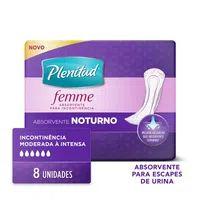 Absorvente Plenitud Com 8 Femme Noturno