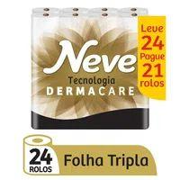 Papel Higienico Folha Tripla Neve L24p21 20m