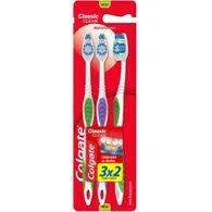 Escova Dental Colgate Classic Leve 3 Pague 2 Clean