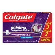 Creme Dental Colgate M.P.A 70g L3p2 Neutracucar