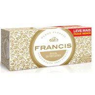 Sabonete Francis Classico 90g Lv Mais Pg Menos Com 5 Branco