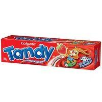Creme Dental Infantil Tandy 50g Gel Morango