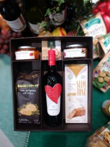 Caixa gourmet vinho