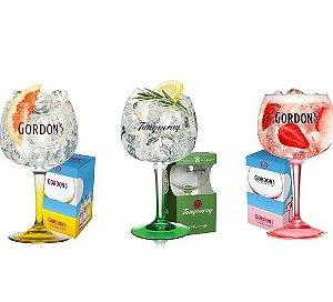 Kit  3 Taças Gin Coloridas - 600 ml