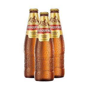 Cerveja Cusquena golden lager - 330ml- 3 un