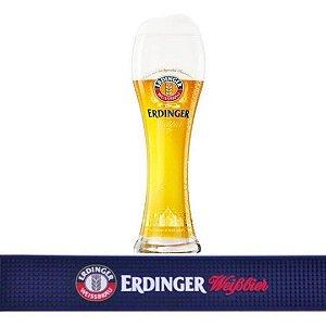 Kit Bar Mat Erdinger + Copo Erdinger Weissbier  500 Ml