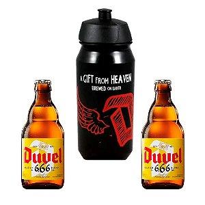 Kit 2 Cervejas Duvel 330 Ml + Squeeze