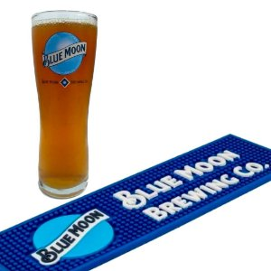Kit Blue Moon copo 285 ml + bar mat