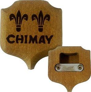 Abridor de Garrafa Chimay - Madeira Questão de Gosto