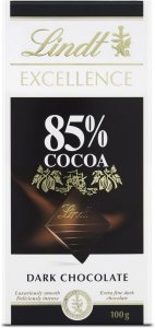 Chocolate Lindt Excellence 85% Cacau - 100g