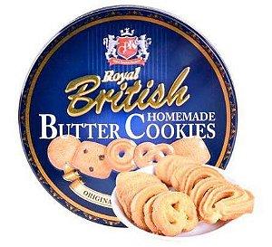 Biscoitos Amanteigados - Royal British Butter Cookies 114g- Questão de Gosto