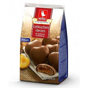Biscoitos Weiss Corações de Lebkuchen com Damasco 300g