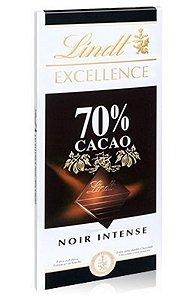Chocolate Lindt Excellence 70% Cacau - 100g Questão de Gosto